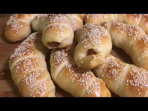 Сосиски в тесте | Sausage Roll | Նրբերշիկը խմորի մեջ