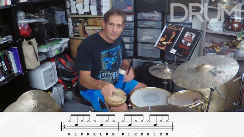 Drum Lesson: How to Develop a Fast Jazz Ride Pattern with Danny Gottlieb