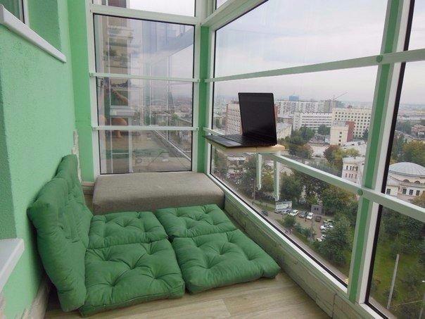 хороший дизайн для балкона