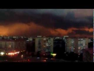 Гроза начинается. Москва 11.08.2013