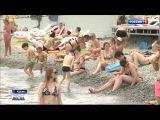 Один из лучших пляжей мира расположен в Крыму
