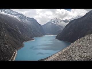 Ландшафт Перу на гексакоптер Yuneec Typhoon H