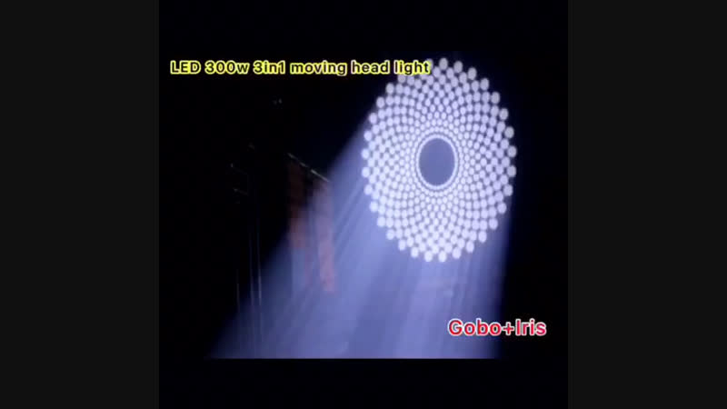 LED 300w beam/spot/wash 3in1 moving head light