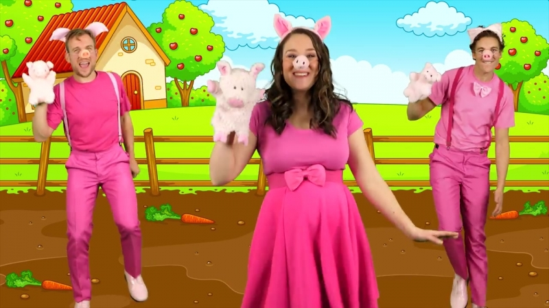 This Little Piggy Went to Market Popular Nursery Rhymes Kids Songs for Babies, Toddlers