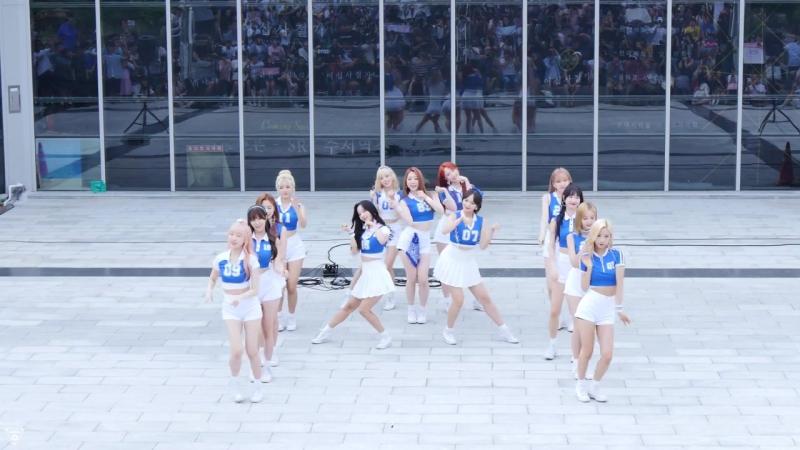 [4K] 170716 우주소녀(WJSN) 전체 - HAPPY(해피) @게릴라공연(SRT수서역)-직캠 By 쵸리(Chori)