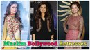 Top 10 Muslim Bollywood Actresses You Didn't Know Bollywood Muslim Actresses
