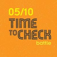 Логотип TIME TO CHECK