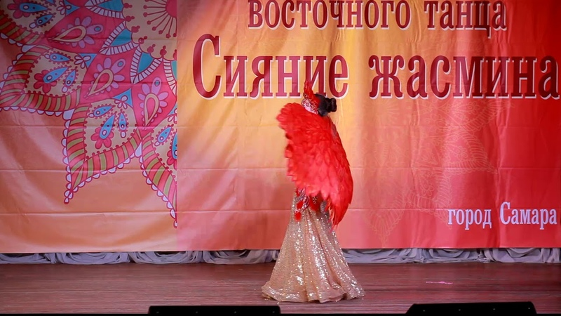 Крылья ангела с росписью жар птица для танцев ЛисьяМастерская