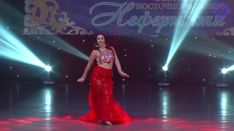 Юлия Сидорук с гала-концерта Нефертити 2018 г. Симферополь