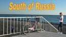 South of Russia. Russian Resorts on the Black sea. 4K