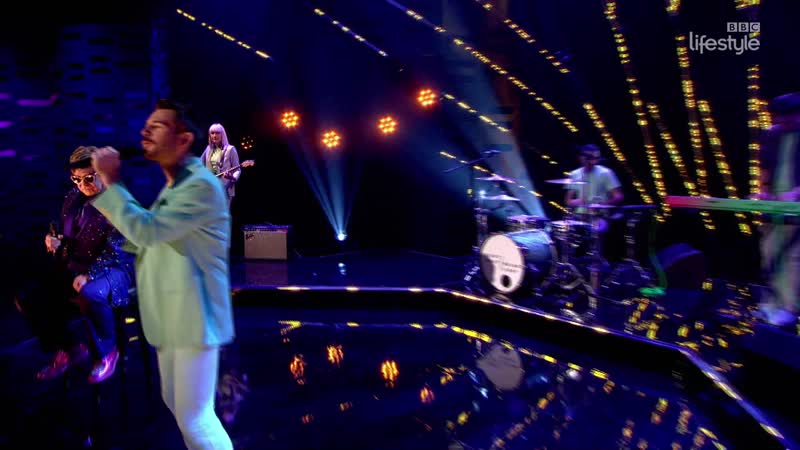 Bright Light Bright Light feat. Sir Elton John - All in the Name (The Graham Norton Show 19-09 - 2016-05-20)