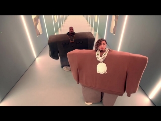 Kanye west  lil pump ft. adele givens - i love it (official music video)