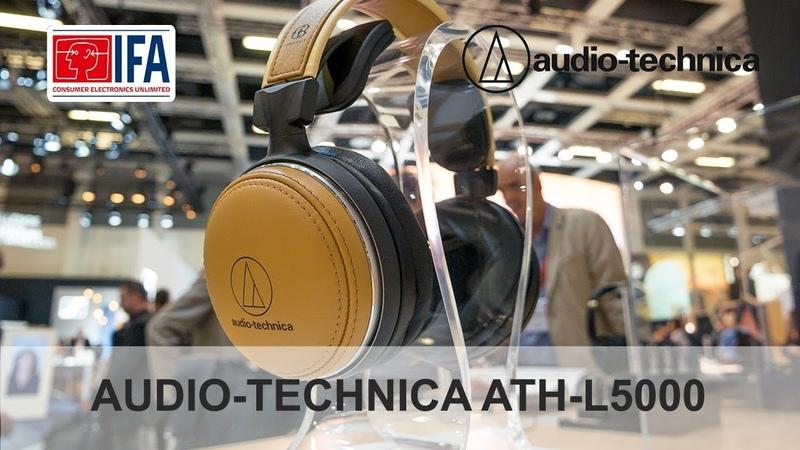 Цена $3999 ✓ AUDIO-TECHNICA ATH-L5000 на IFA 2018 в Берлине
