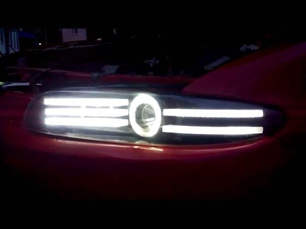 Альтернативные фары на Mazda Xedos 6
