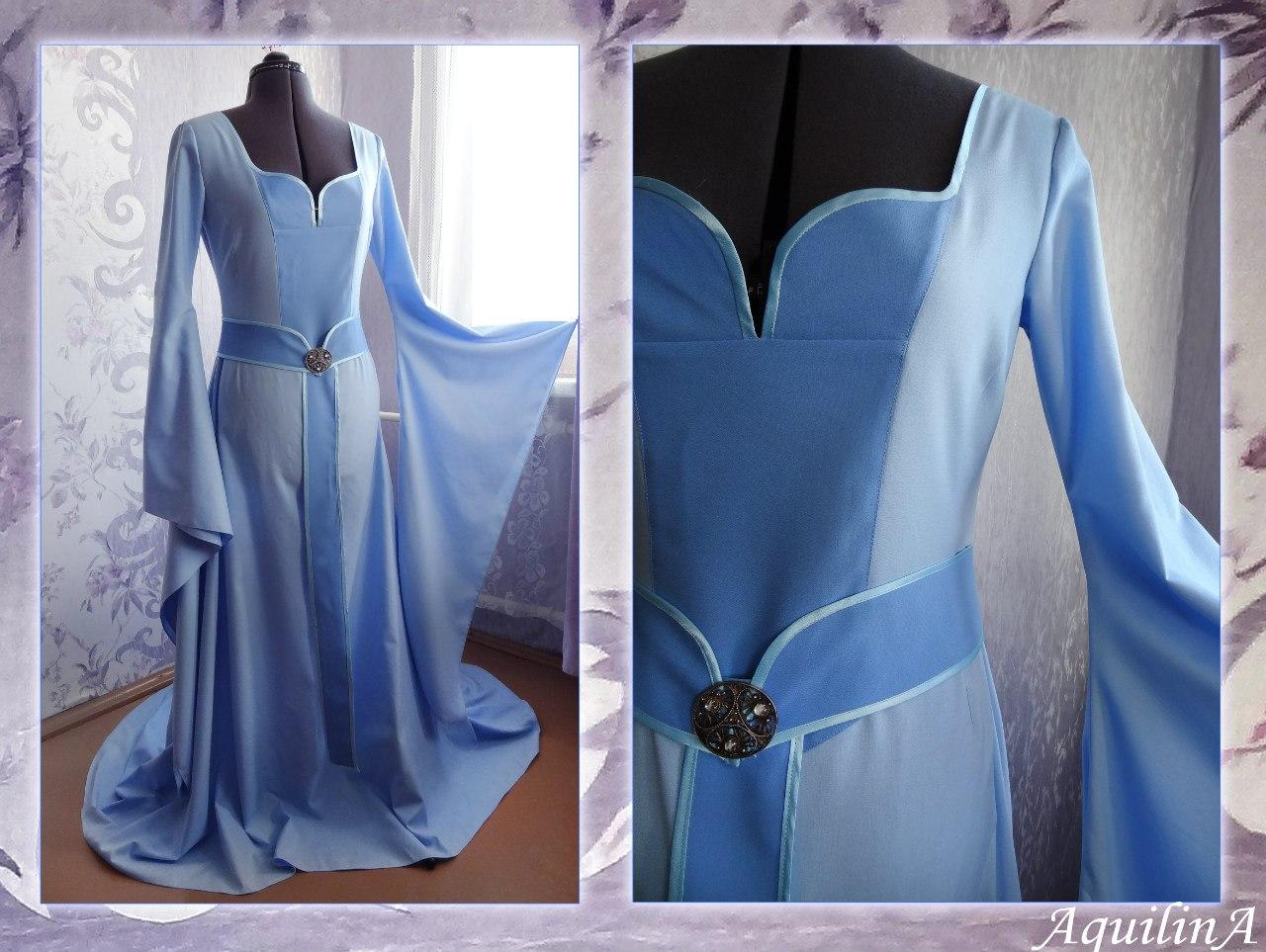 Как сшить эльфийское платье