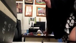 Teacher fucking the secretary in the school office - Video Dailymotion