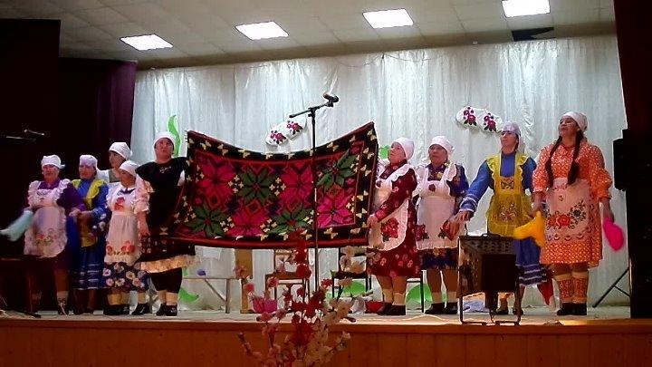выступление фольклорного коллектива Ахирәтләр д.Кашкалево