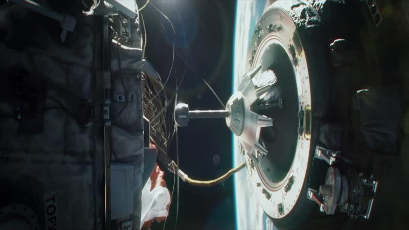 Эпизод из фильма Гравитация часть 6 (Отстыковка) FUUL HD 1080p