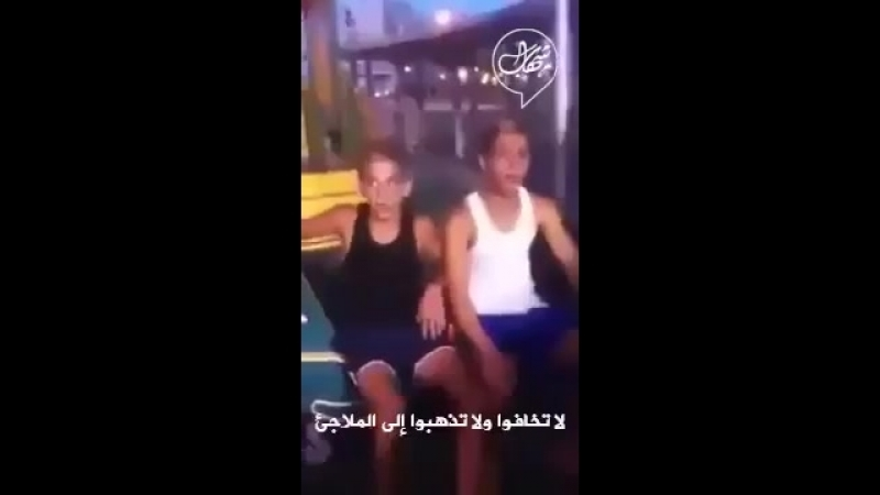 Video From 2014 war on Gaza 3 Zionist sitting talking about their courage in the face of Hamas's rockets.