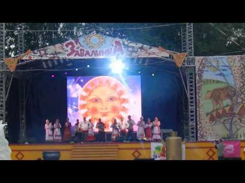 танец чувашского фолка на завалинке 2018