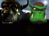 OGRE Reign of Chaos (Trailer) Продюсор и режисёр игры Стив Стриитинг и Разработчик Blizzard Entertainment