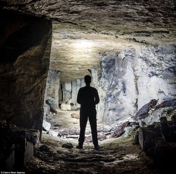 Путешествие по подземельям Великобритании.