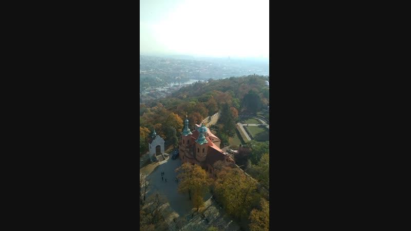 Вид с Пражской Эйфелевой башни
