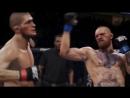 Electronic Arts до боя Хабиба и Конора, устроили симуляцию, в которой отдали победу Макгрегору, но в жизни что-то пошло не так.