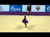 Гран При по художественной гимнастике Москва 2.03.14, выступления юных гимнасток