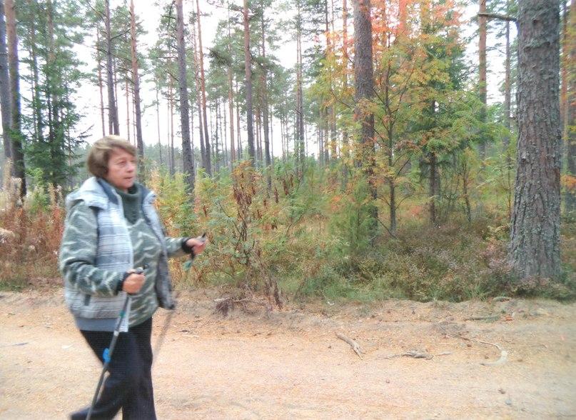 Одна из участниц соревнований, проходивших за городом в Зеленогорске
