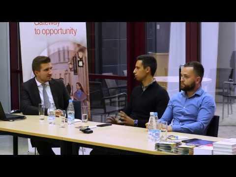 Секция 1. Бизнес и предпринимательство в Беларуси (Смогоржевский, Ханин, Савицкий)
