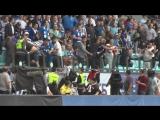 Болельщики «Динамо» избили фанатов «Спартака» на центральной трибуне