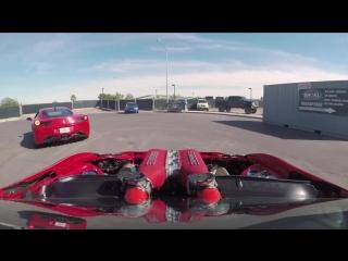 Ferrari-Powered Toyota Doing Donuts w_ Ryan Tuerck l The GT4586