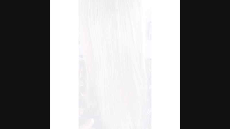 Ботокс восстановление волос Видео ПОСЛЕ И ДО процедуры