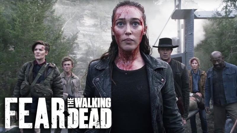 Бойтесь ходячих мертвецов - 5 сезон. Трейлер. Всё о сериале - kinorium.com