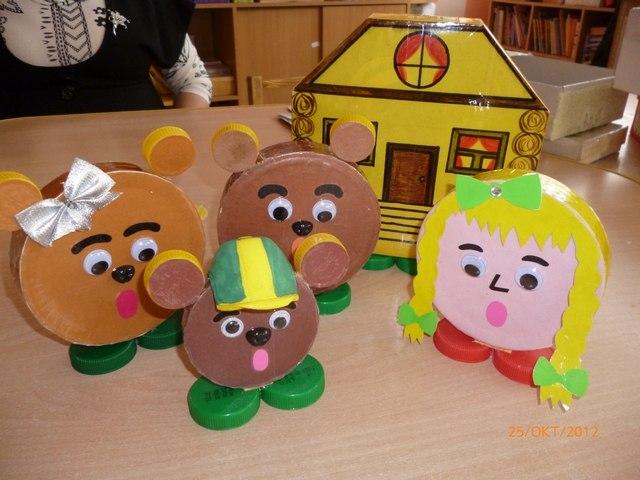 Поделки для кукольного театра своими руками