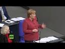 """""""Skandalös!"""" – Merkel attackiert Die Linke für """"uneingeschränkte Unterstützung der Gelbwesten"""""""