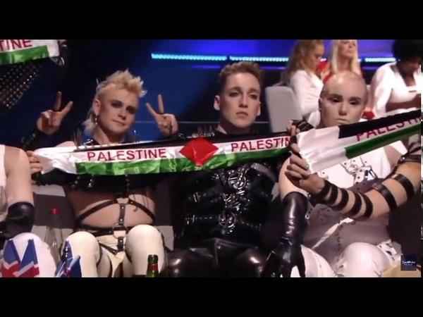 ИСЛАНДИЯ ПОКАЗАЛА ФЛАГ ПАЛЕСТИНЫ НА ЕВРОВИДЕНИЕ 2019 PALESTINE FLAG EUROVISION 2019