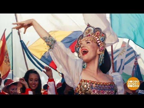 Natalia OREIRO в эфире программы «Доброе утро» в студии «Певого канала» (06.06.2018) тизер «United by love» (Russia 2018)