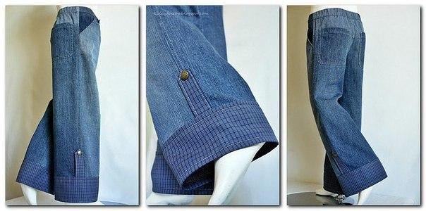 Как удлинить джинсы - 3 способа 92