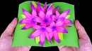 How To Make 3D Flower Pop Up Card-Origami Tutorial-By TTH Origami