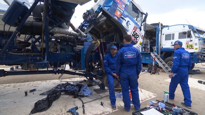 КАМАЗ-мастер на ралли «Дакар 2019» — 12-е января — КАМАЗ-мастер остаётся в гонке двумя экипажами