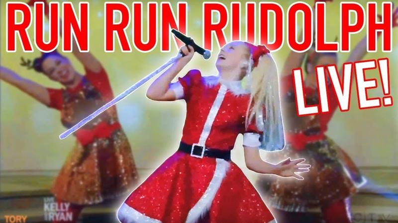 PERFORMING RUN RUN RUDOLPH LIVE