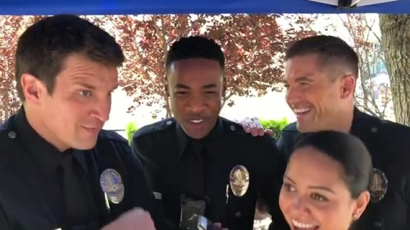 We've discovered that @titusmakin has a very unusual speech impediment. @therookieabc therookie @alydiaz @ebwinter