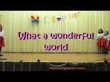 EUROVISION 2019 _ What a wonderful world (Louis Armstrong) cover by 4 girls from Pizhemskaya school