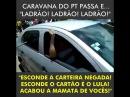 Caravana do PT é humilhada em Fortaleza: 'Bando de ladrões, segura a carteira, pessoal!' veja vídeo