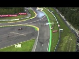 GP3 Belgium 2013 Race 1 - Sainz & Harvey huge accident