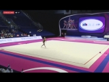 Александра Солдатова - обруч (многоборье) Гран-при Холон 2018