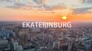 EKATERINBURG Екатеринбург Drone Hyperlapse Dronelapse 4k