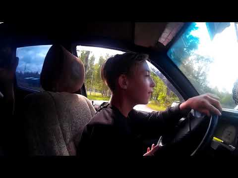 Первый урок вождения (механика) УЧУСЬ ВОДИТЬ МАШИНУ с ОТЦОМ